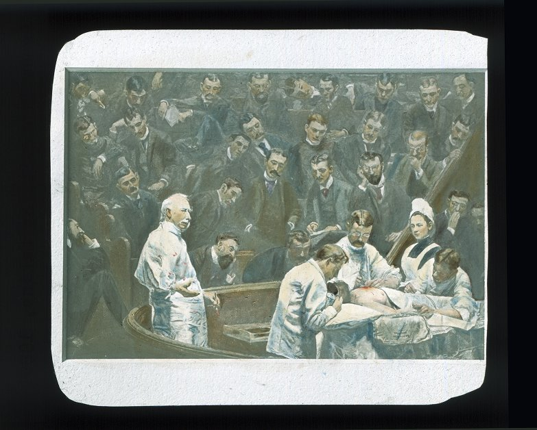 Agnew Clinic, painting by Thomas Eakins, commissioned by the Medical School Class of 1889