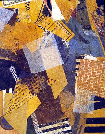 Schwitters, Kurt  -  Forms in Space