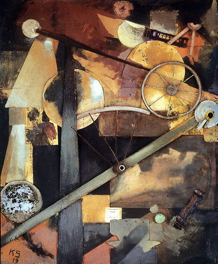 Schwitters, Kurt  -  Construction for Noble Ladies