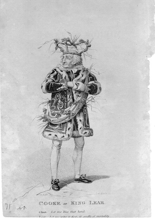 Cooke as King Lear
