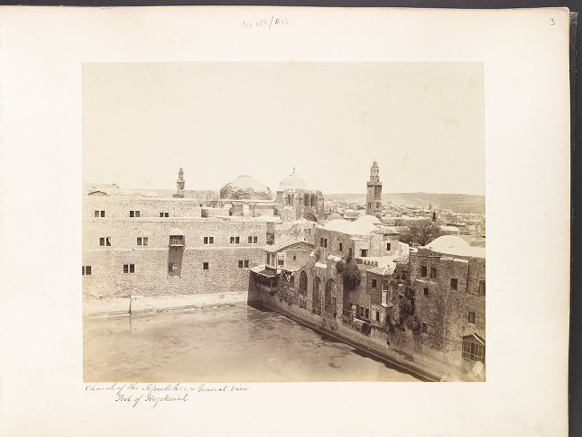 Church of the Sepulchre and General View Pool of Hezekiah