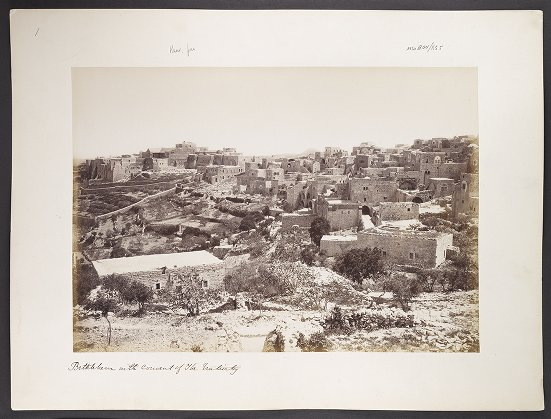 Bethlehem with Convent of the Nativity