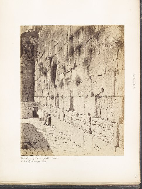 Wailing Place of the Jews :