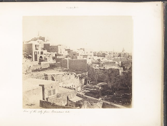 View of the City from Damascus Gate