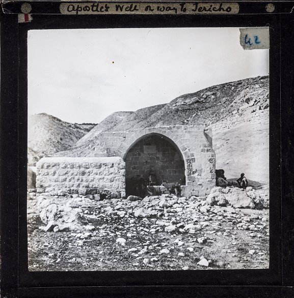 Apostle's Well on way to Jericho