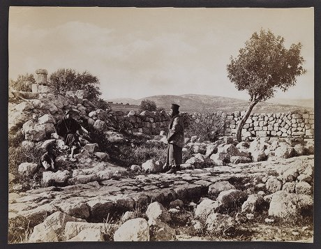 Near Bethlehem--Supposed site of the Angel's Appearance to the Shepherds