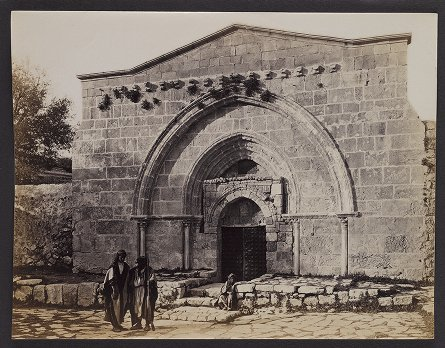 The Façade of the Tomb of the Virgin, Valley of Jehoshapahat