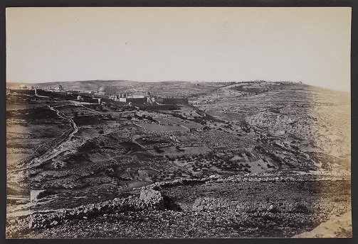 Jerusalem and Siloam from the Hill of Evil Counsel