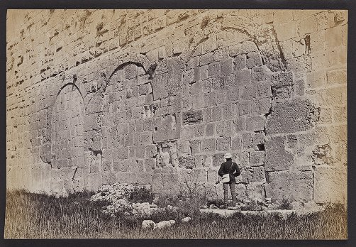 Three Roman Arches on the south wall of the Haram enclosure, Jerusalem