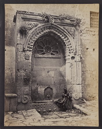 Fountain near the Gate of Chain, chief Entrance to the Haram, Jerusalem