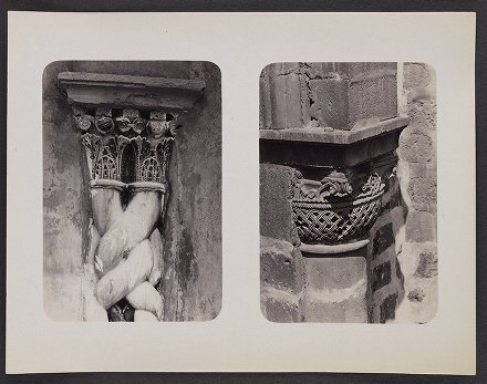 Jerusalem--Very Curious Sculptured Capitals from the Holy City