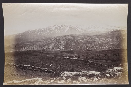 Mount Hermon, The Supposed Scene of the Transfiguration