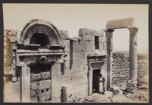 Ruins of a large and Fine Synagogue, the supposed Burial-place of Queen Esther
