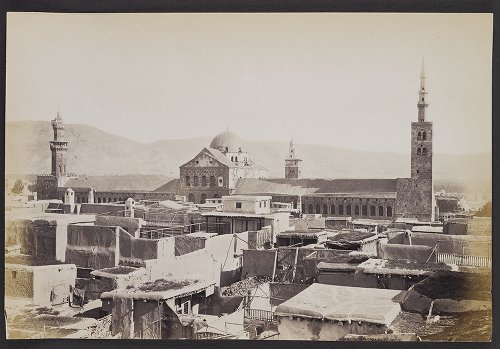 The Great Mosque of Damascus from the south :