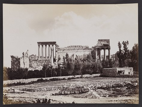 General View of the Temples, Baalbec