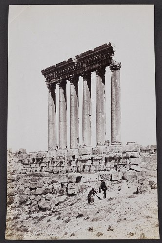 The Great Columns of the Temple of the Sun, Baalbec