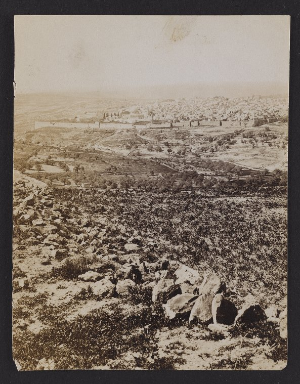 Panorama from Mount Scopus