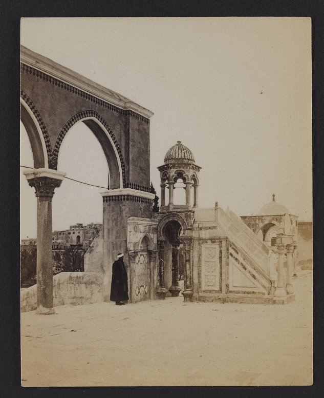 The Mosque of Omar--Saracenic Pulpit