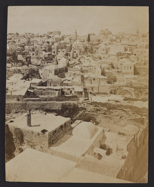View from the Convent of the Sisters of Zion, Showing much of Modern Jerusalem