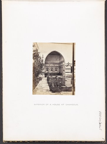 Interior of a House at Damascus