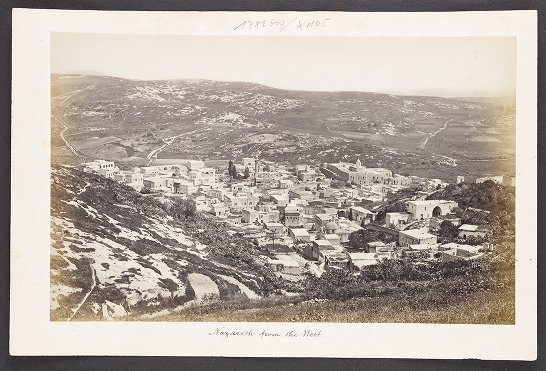 Nazareth from the West
