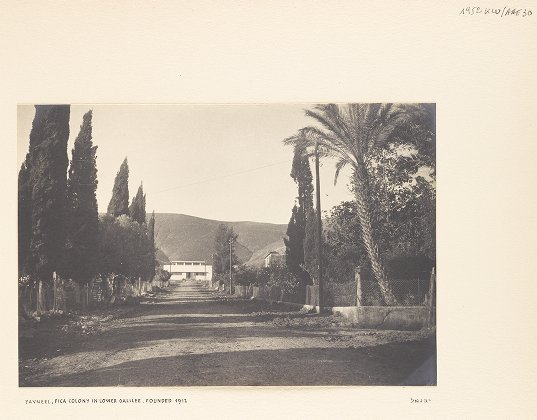 Yavneel, PICA colony in Lower Galilee, founded 1912