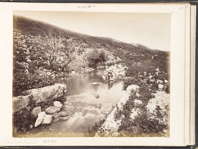 Fountain of Elisha near Jericho
