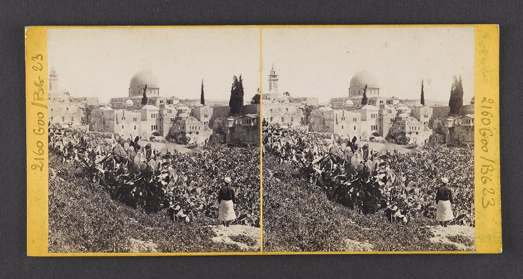 Jerusalem--View from Mount Zion. The Dome of the Mosque of Omar, &c.