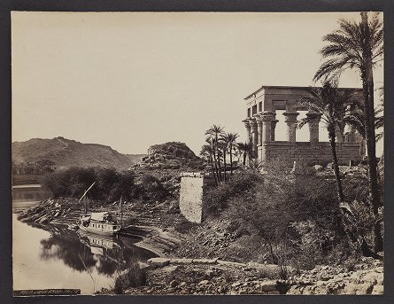 View from Philae