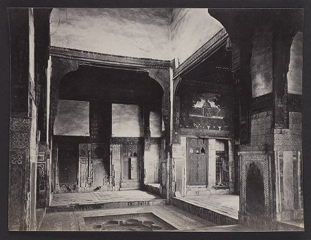 Interior of the House of the Chief Mufti, Cairo
