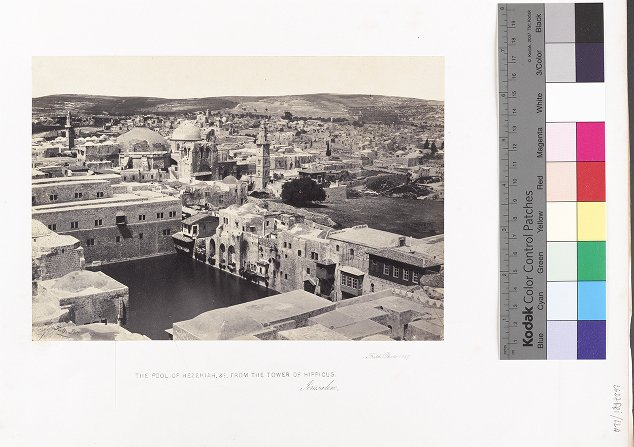 The Pool of Hezekiah, &c., from the Tower of Hippicus, Jerusalem