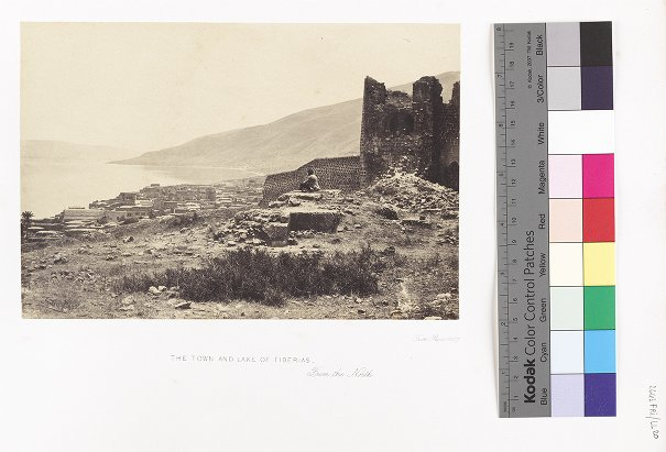 The Town and Lake of Tiberias, From the North
