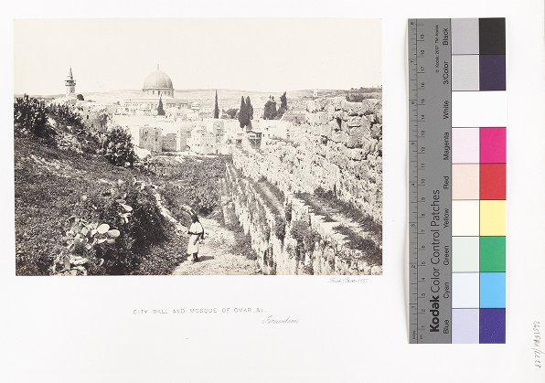 City Wall and Mosque of Omar, &c., Jerusalem