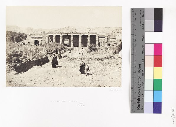 The Temple at Goorneh, Thebes