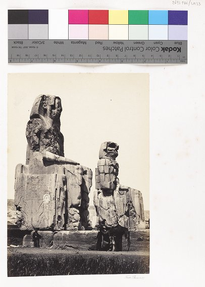 The Statues of Memnon, Plain of Thebes