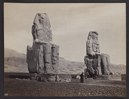 Statues of Memnon, Thebes