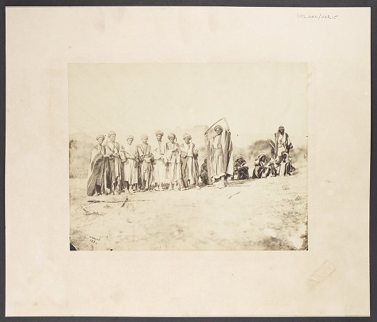 Personnages Bedouins
