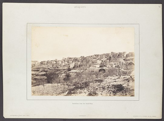 Bethlehem from the South-West