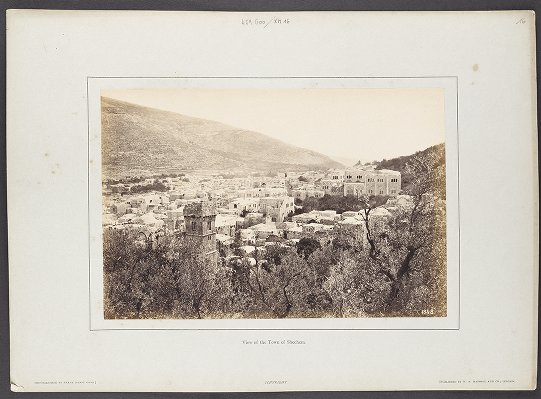View of the Town of Shechem