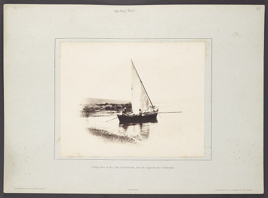 Fishing Boat on the Lake of Gennesaret, near the supposed site of Bethsaida