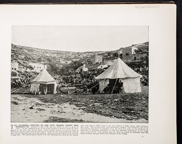 The Pilgrims--Tenting in the city where Christ was brought up
