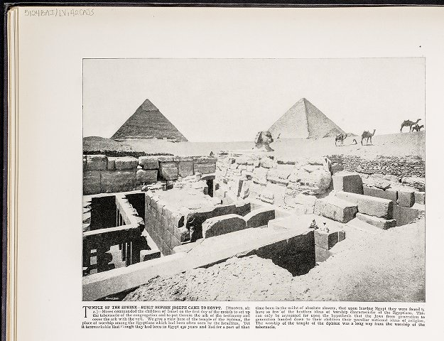 Temple of the Sphinx--Built before Joseph came to Egypt