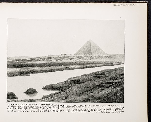 The Great Pyramid of Egypt--A monument Abraham saw.