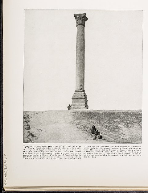 Pompey's Pillar--Raised in honor of Diocletian