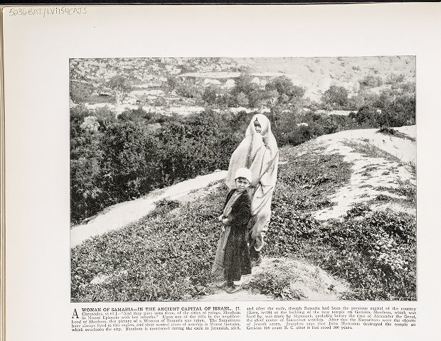 A Woman of Samaria--In the Ancient Capital of Israel