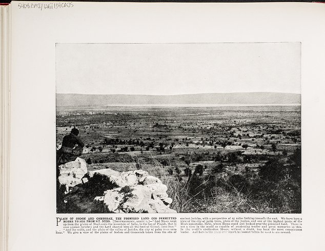 Plain of Sodom and Gomorrah, the Promised Land God Permitted Moses to see from Mt. Nebo