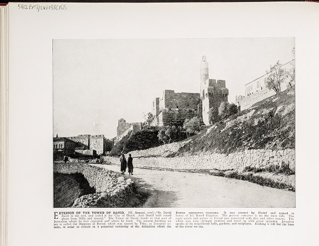 Exterior of the Tower of David