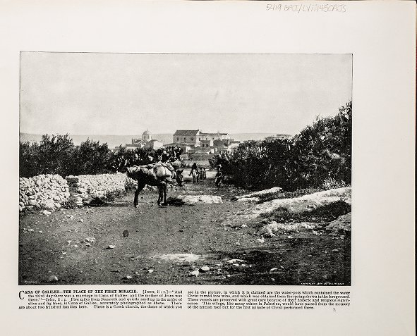 Cana of Galilee--The Place of the First Miracle