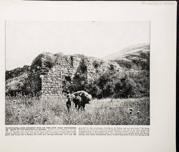 Bethsaida--The present site of the city that witnessed many of His wonderful works