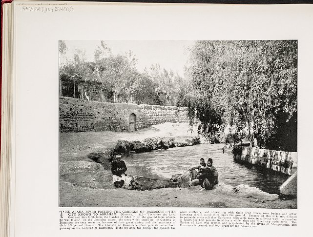The Abana River Passing the Gardens of Damascus--The City Known to Abraham